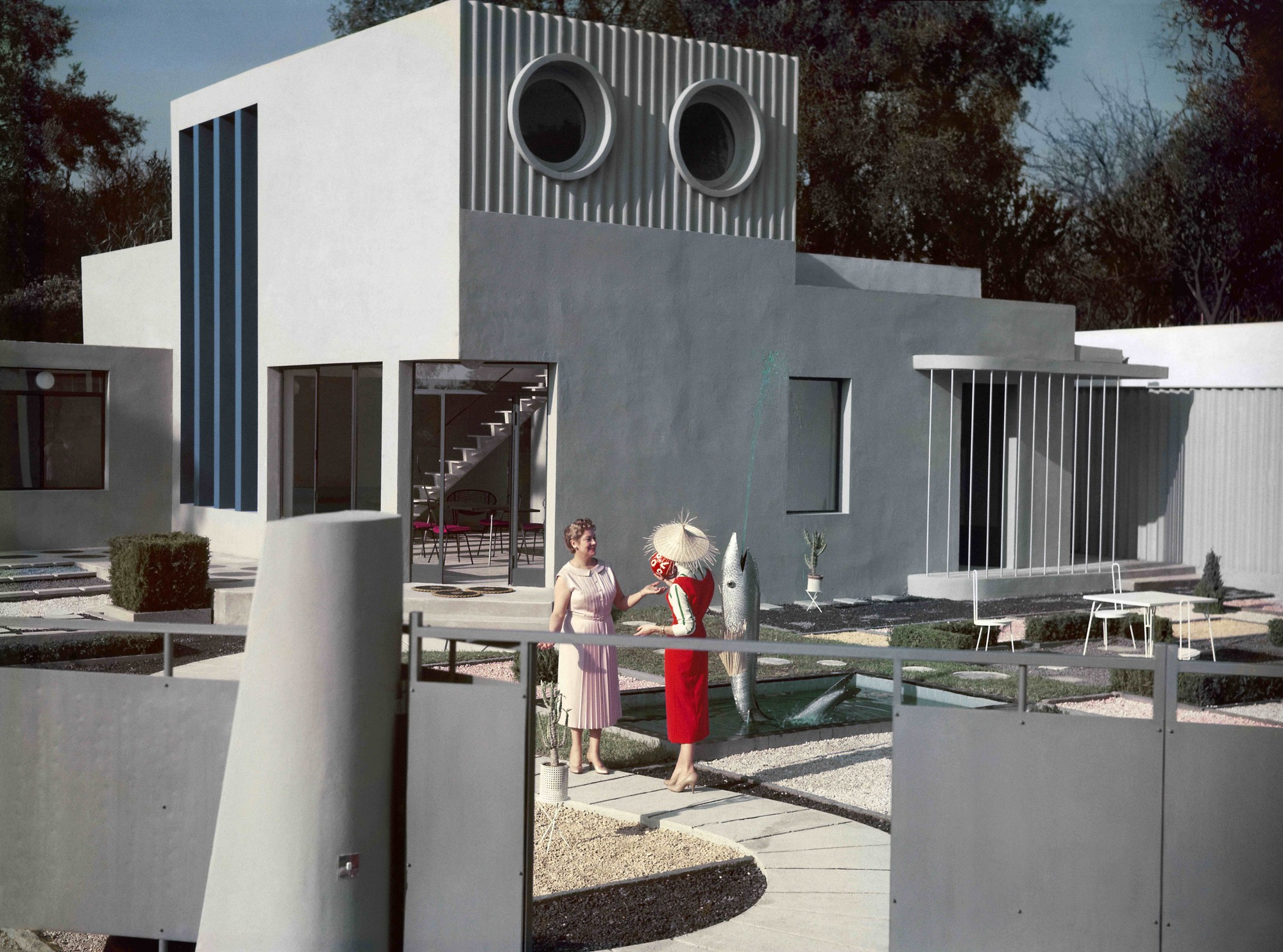 Villa Arpel in Mon Oncle.